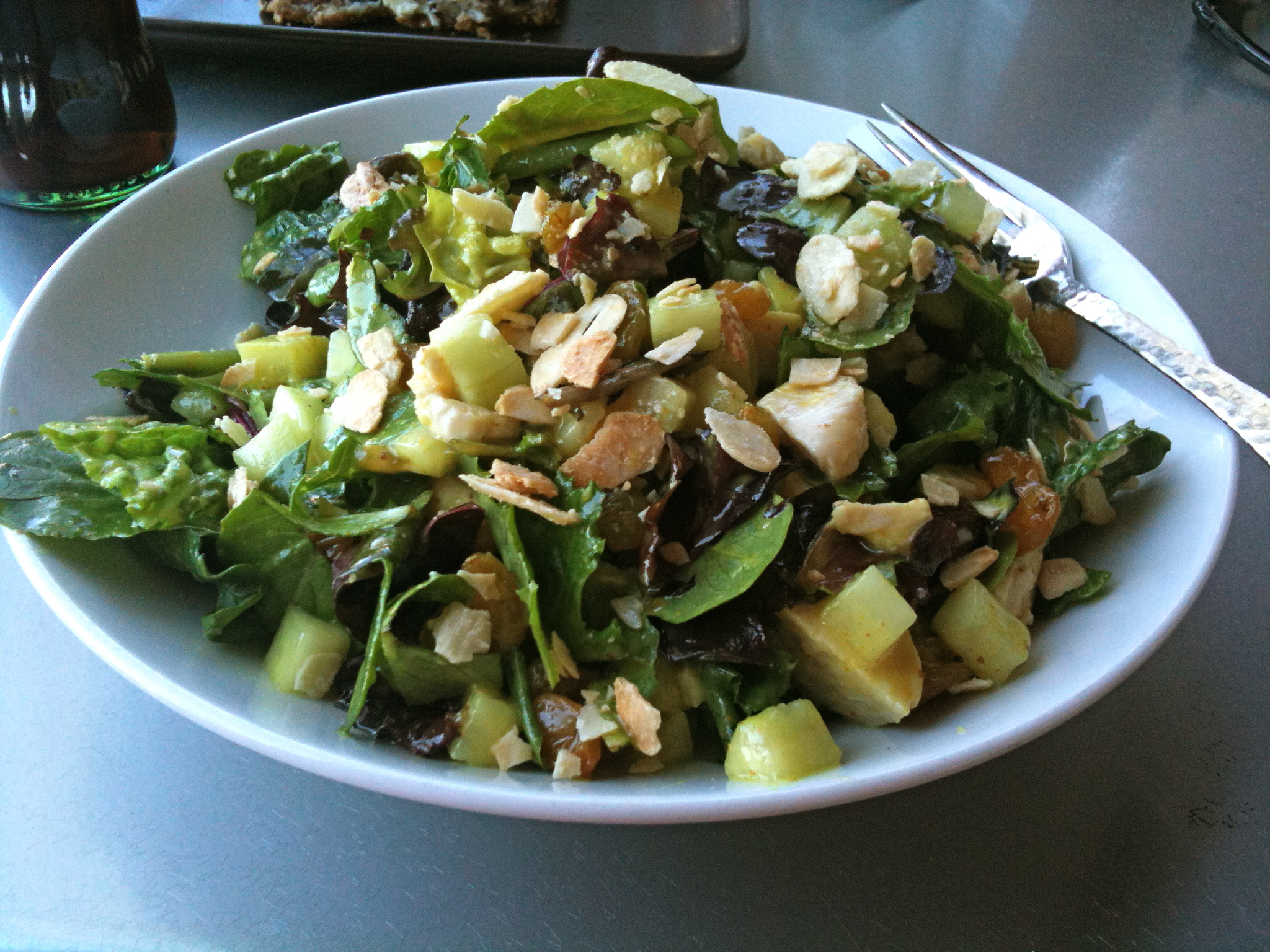 Curried Chicken Salad With Golden Raisins And Almonds ...